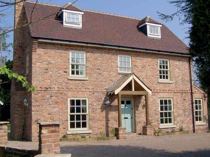 Sashless case study potton rectory 39 self build 39 house for Self build homes designs